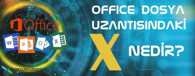 Microsoft Office Sekmesindeki X Nedir