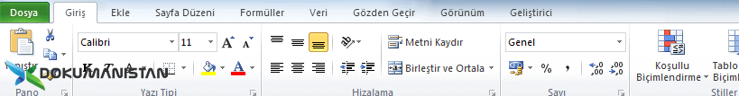 Office Şerit Kavramı