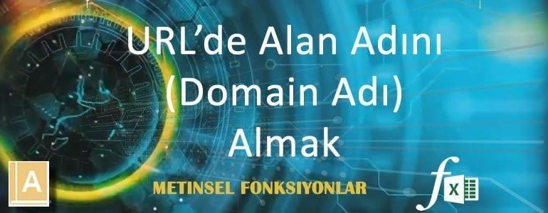 URL'de Alan Adını ( Domain Adını ) Almak