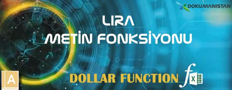 LİRA - DOLLAR Fonksiyonu