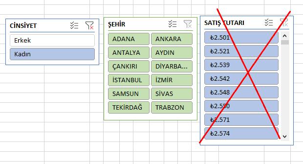 Excel Dilimleyici ile Doğru Tercih Yapma