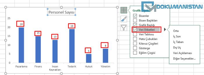 Grafik Veri Etiketleri