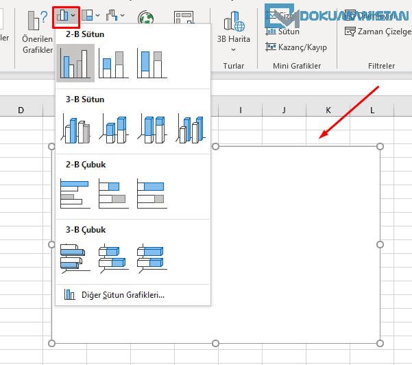 Veri Olmadan Grafik Ekle