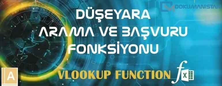 Excel DÜŞEYARA - VLOOKUP Fonksiyonu