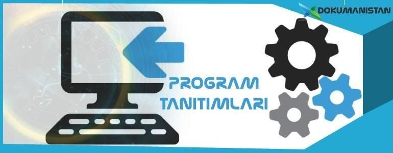 program-tanitimlari